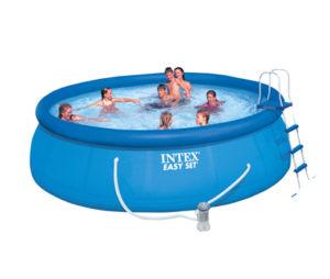 Как выбрать бассейн для дачи